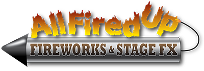All Fired Up Fireworks Logo - Brisbane Fireworks Company