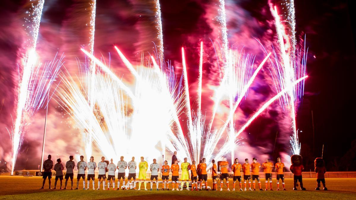 Brisbane Roar Football Club Kit Launch