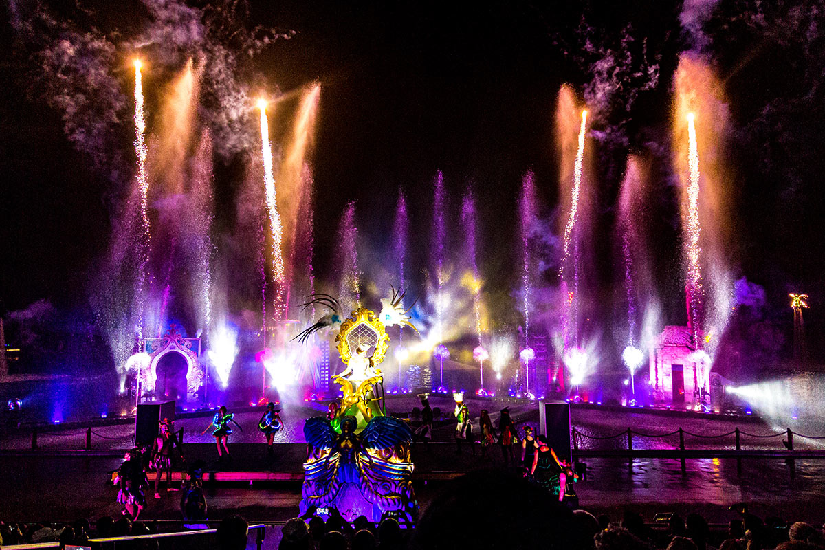 Seaworld Carnivale 2020 - Gallery 02 - All Fired Up Fireworks Stage FX